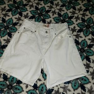 Levi's High Waisted Shorts size 12